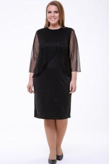 Платье 1574-073 Грация Стиля (Чёрный)