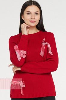 Джемпер женский 182-4811 Фемина (Красный)