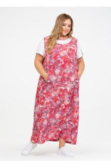 """Платье """"Её-стиль"""" 110200705 ЕЁ-стиль (Красный)"""