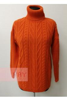 Свитер женский 182-4793 Фемина (Апельсин)