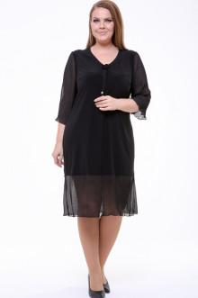 Платье 1834-073 Грация Стиля (Чёрный)