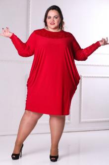 Платье 080806 ЛаТэ (Марсала)