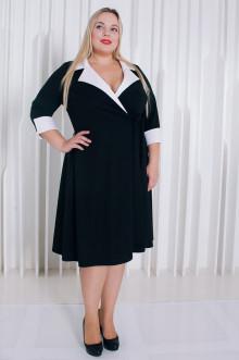 Платье 010301 ЛаТэ (Черный)