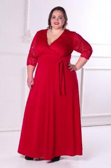 Платье 086805 ЛаТэ (Марсала)