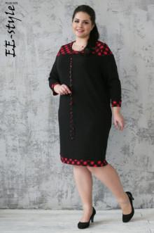 Платье ЕЁ-стиль (Черный)