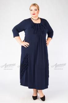 """Платье """"Артесса"""" PP23607DBL05 (Темно-синий)"""