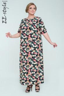 """Платье """"Её-стиль"""" 2035 ЕЁ-стиль (Тюльпаны)"""