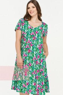 Платье женское 181-3433 Фемина (Ирисы)